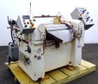 Used- Lehmann Horizontal Three Roll Mill, Model 663-V. (3) 9
