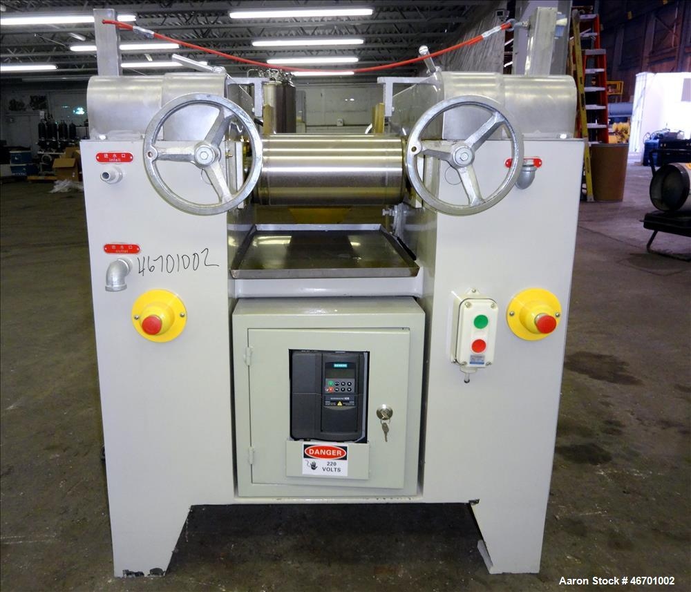 Used- Torrey Hills Technologies Three Roll Mill, 6 X 12 T.