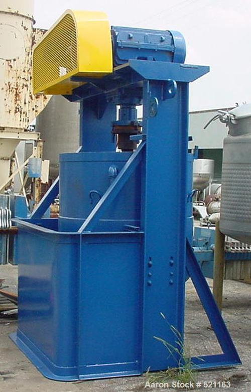 USED: Attritor, model 200S. 50/20 hp 2 speed motors, heavy duty gearbox, 220 volt, 3 phase. Stainless steel contacts on bowl...