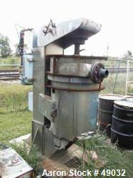 Used- Carbon Steel/ Stainless Steel Union Process Batch Type Attrition Mill, Model Q-50