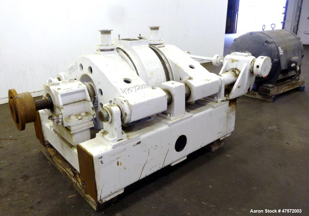 "Used- Sprout Bauer Type 26"" Double Runner Attrition Mill Refiner"