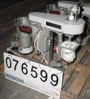 USED:Union Process type 01HD, size 01, Szegvari laboratory batchattritor mill, stainless steel. Approx 3-1/2