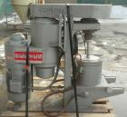 Used- Union Process Intermittent Type Laboratory Batch Attritor Mill, Type B, Size 1S. 304 Stainless steel tank, approximate...