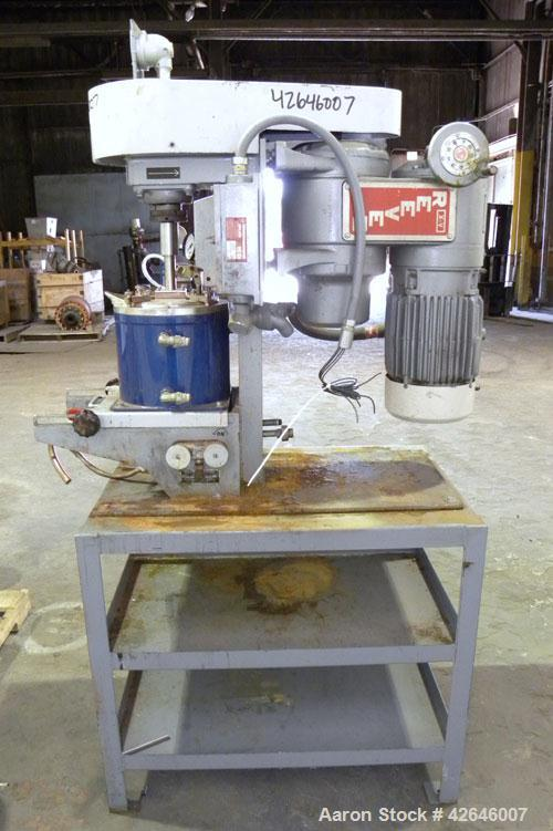 Used- Union Process Szegvari Attritor Laboratory Batch Mill, Type 1 S, Size 1. Stainless steel tank, approximate 0.8 gallon ...
