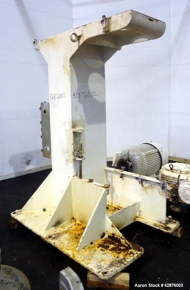 "Used- Union Process Szegvari Continuious Attritior Mill, Model Q100. 316 Stainless steel grinding chamber, 32"" diameter x 32..."