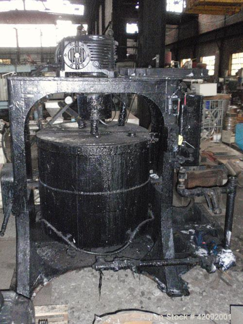 Used- Carbon Steel Union Process Batch Attritor Mill, type S-100