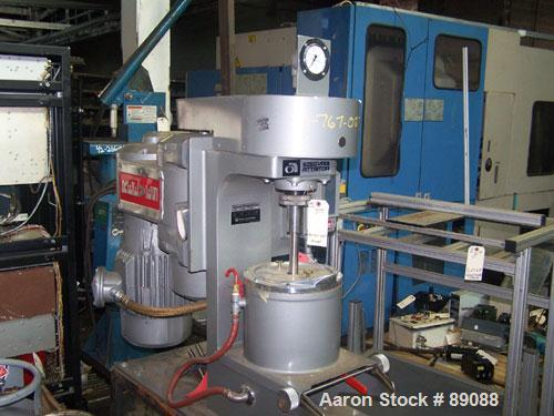 "USED: Union Process laboratory batch Szegvari attritor mill, type 1S, size B, 304 stainless steel. Approximately 8"" diameter..."