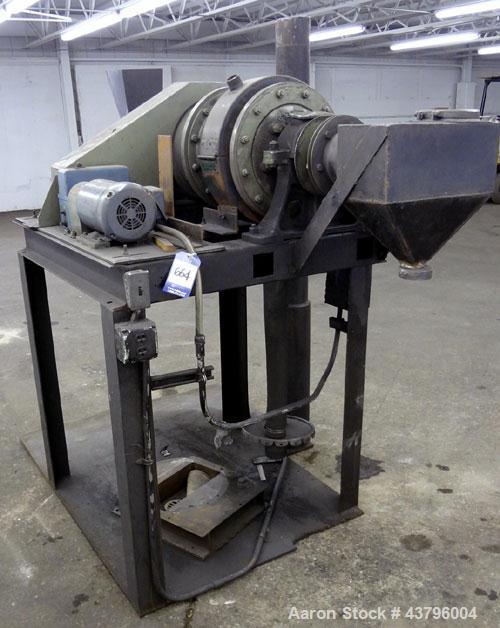 "Used- Carbon Steel Denver Equipment Batch Ball Mill, Sixe 12"" x 24"" B.M., Model 200858"