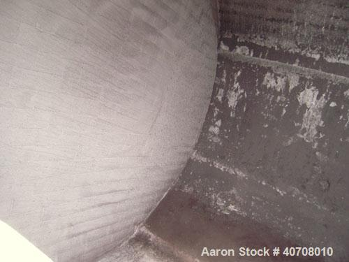 """Used- Patterson Foundries Ceramic Lined Ball Mill, carbon steel jacketed, no rating. Approximately 56"""" diameter by 45"""" long,..."""