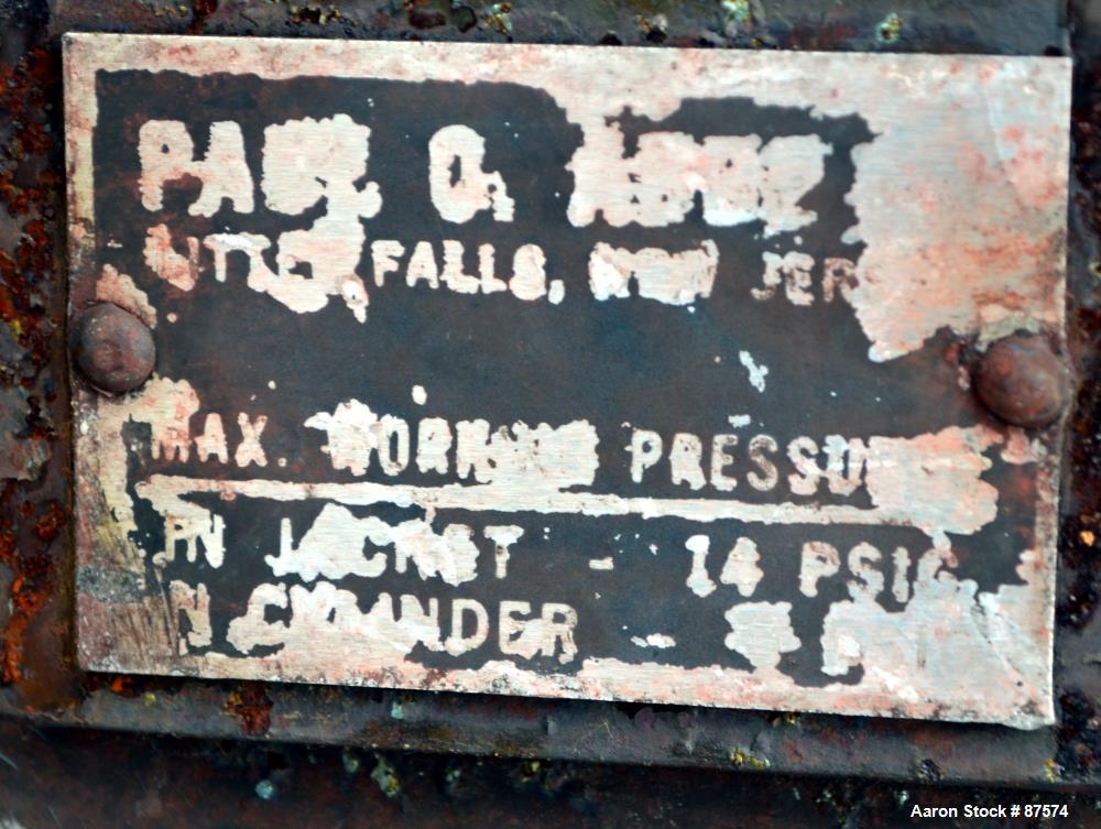 Used- Paul O. Abbe Ball Mill, Model BM-1