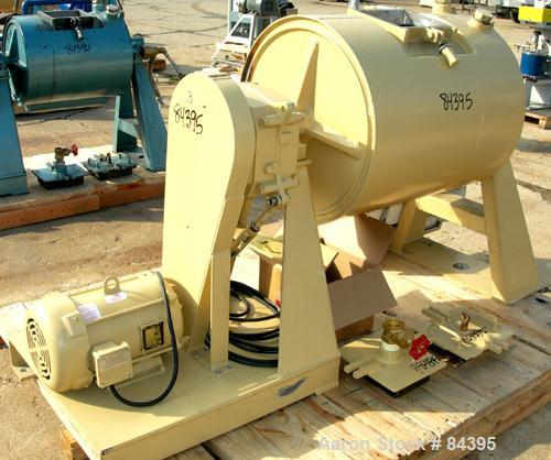 "USED: Paul O Abbe ball mill, model BM8A. 24"" diameter x 30"" long inside shell. Cylinder material abrasion resistant steel. F..."