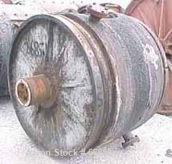 """Used- Ball Mill, Carbon Steel. Jacketed, 60"""" diameter x 42"""" long. 68 cubic foot (513 gallon) capacity. 16"""" diameter inlet (n..."""
