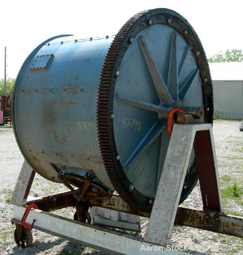 Used: Paul O Abbe Ball Mill