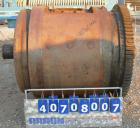 Used- Patterson Foundry Ball Mill, carbon steel. Approximately 40'' diameter x 48'' long non-lined jacketed chamber, rated i...