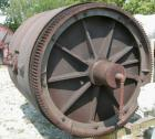 Used- Paul O Abbe Ball Mill, Model BM-1. Carbon steel jacketed chamber, non-lined. 72