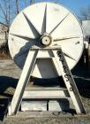 Used- Paul O Abbe Ball Mill, 1269 Gallon Capacity. Carbon steel, lined non-jacketed chamber 72