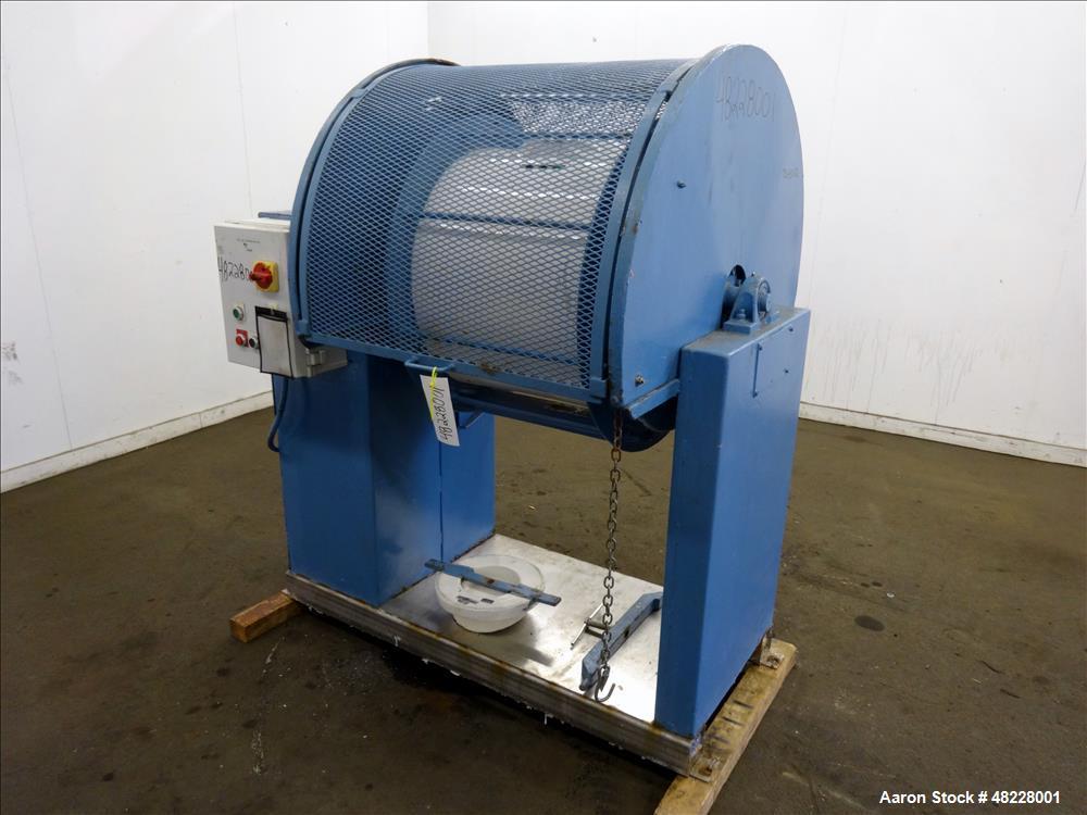 Used- U.S. Stoneware Ceramic Ball Mill, 52 Gallon.
