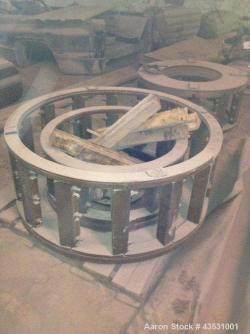 Used-Gundlach 50 Inch Cage Mill, Model 502C 4R 325B.450 Hp max, 100 to 1000 rpm, includes cages but no motors.Reported to be...