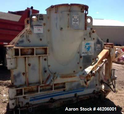 """Used- Gundlach Cage Mill, Model 502C-4R-377B. 50"""" cage mill, optional jib crane. Shaft in shaft, missing cages."""