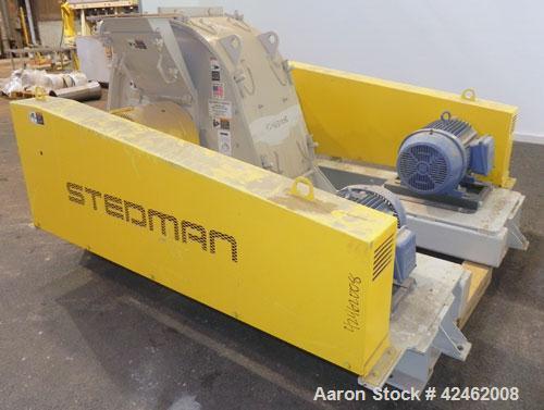 Unused- Stedman F Series Multi-Row Cage Mill Crusher, Model F-36D10-47X, Carbon Steel. (2) Row design, 4'' pin diameter. Lar...