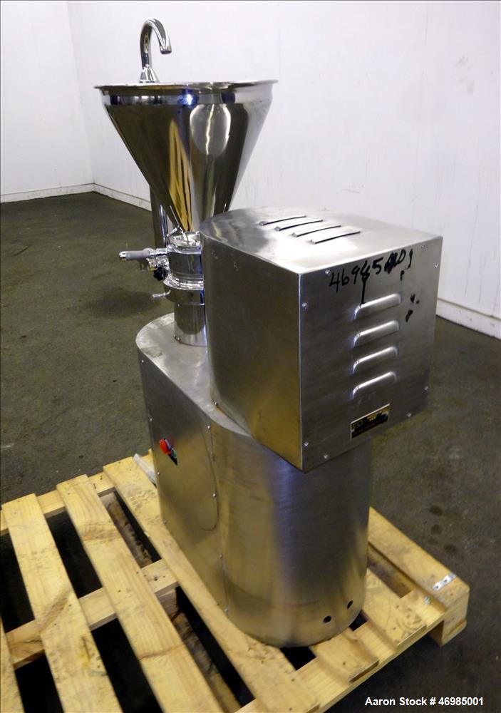 Used- CIP Machineries Colloid Mill, Model Colloid HIWJ.