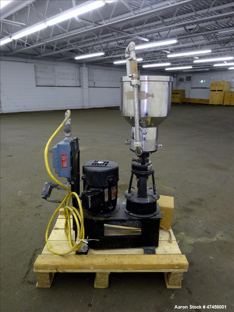 Used- Gifford-Wood Eppenbach Colloid Mill, Model VT-7, 316 Stainless Steel.