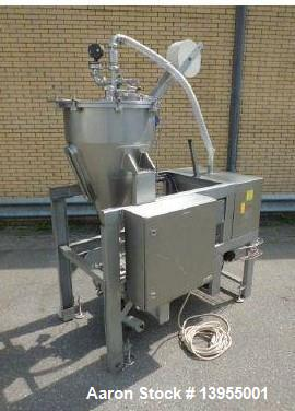 Used- Fryma Deaerator, Model VE-11, Stainless steel. Capacity: 800-4,000 kg/h. Volume/ Pressure/ Temperature: 140 liter/ -1 ...