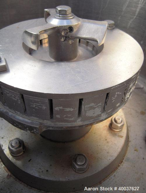 """Used- Kady mill, model OB, stainless steel. 7 to 20 gallon batch. 18"""" diameter x 24"""" deep jacketed bowl, approximately 7"""" di..."""