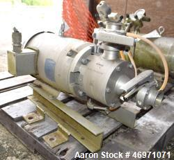 Used- Admix Boston Shearpump, Model BSP 24C, Stainless Steel. Approximately 10 to 30 gallons per minute capacity. Approximat...