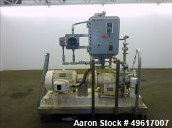 Used- Charlotte Colloid Mill, Model SD 40, 316 Stainless Steel.