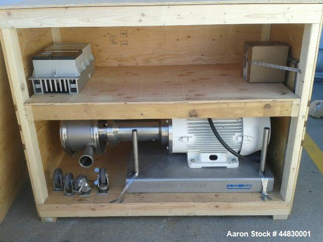 Used-Quadro Emulsifier Mill, Portable, Model Z5 Y-tron.  On base, space for tooling, includes 2 sets of rotor stators and sp...
