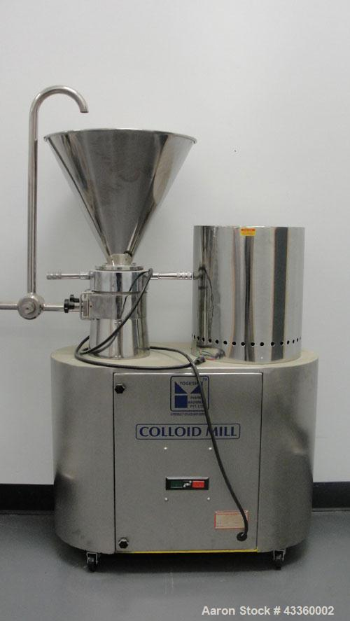 Used-Yogesh Colloid Mill.3 Phase motor.440 Volt.
