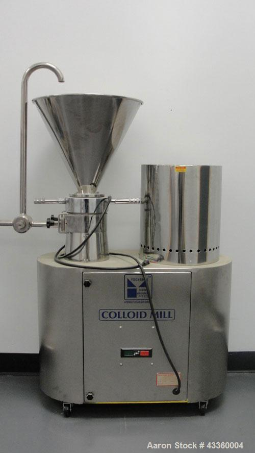 Used-Yogesh Colloid Mill. 3 Phase motor, 440 volt.