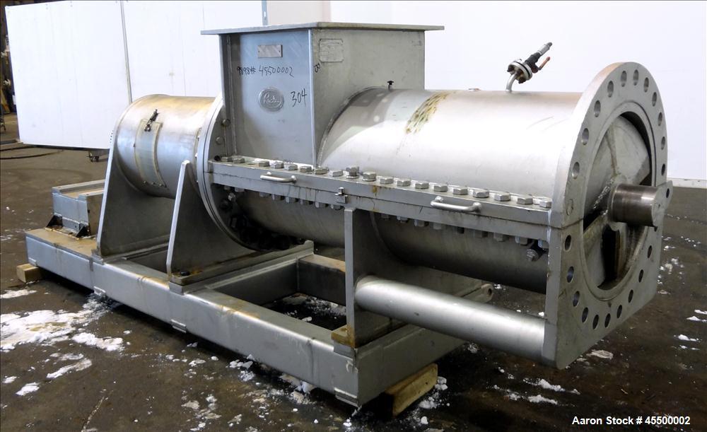 Used- Hosokawa Bepex Rietz Extructor, Model EM-24-K9A368