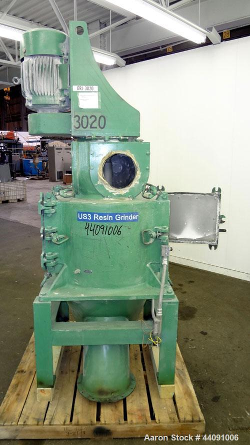 Used- Carbon Steel Rietz Vertical Disintegrator, Model RD-12