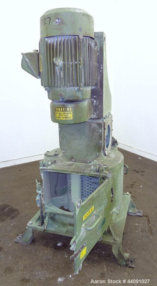 Used- Carbon Steel Rietz Vertical Disintegrator, Model RD-12