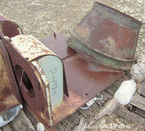 """Used- Rietz Vertical Disintegrator, Model RD18, Carbon Steel. Chamber measures approximately 18"""" diameter x 16"""" deep.  Scree..."""
