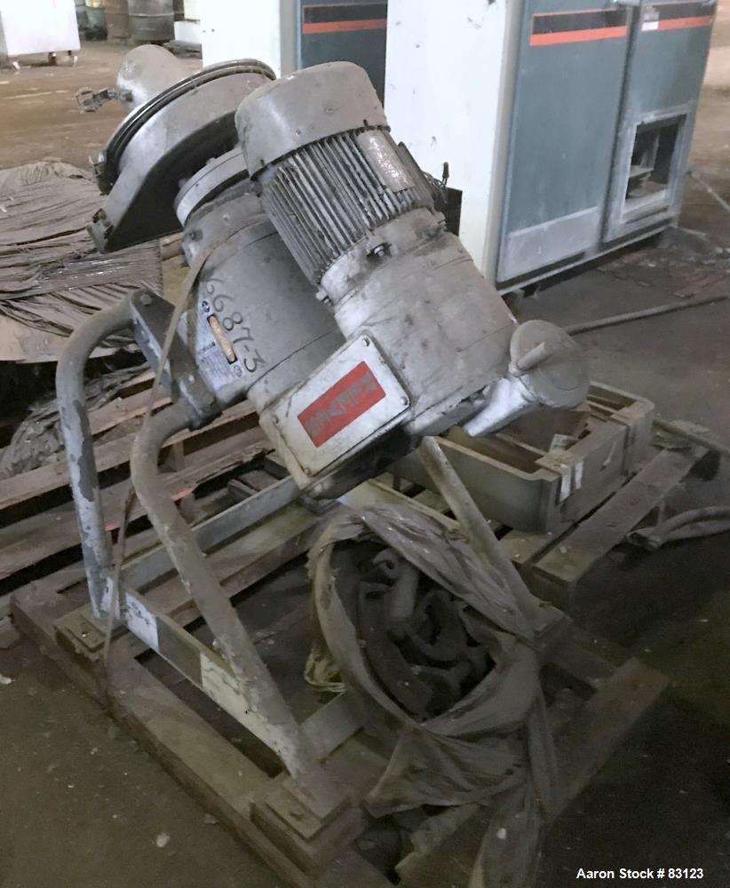 Used- Stainless Steel Rietz Disintegrator, Model RP-6-K115,