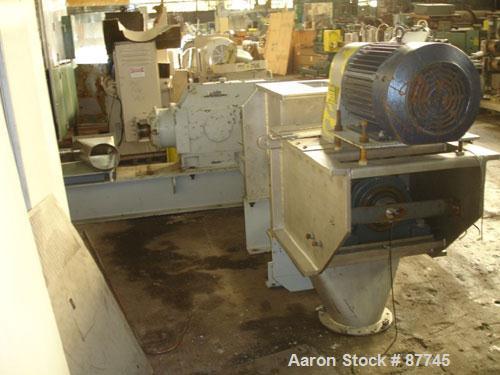 Used- Stainless Steel Rietz/Bepex Prebreaker, Model PB-15-K9G228