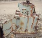 Used- Rietz Vertical Disintegrator, Model RD18, Carbon Steel. Chamber measures approximately 18