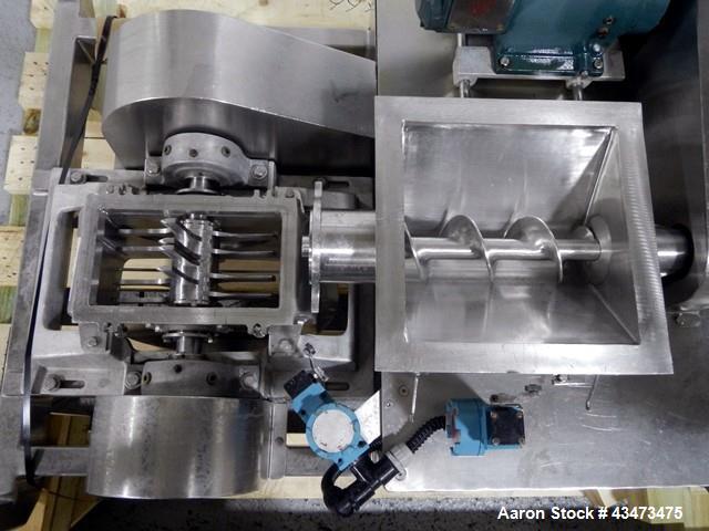 Used-Matcon Hopper with DASO6  Fitzmill