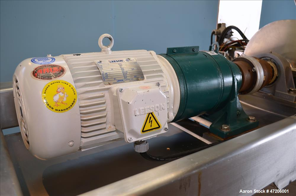 Used- Fitzpatrick Model 16LX16D GuiloRiver Fitzmill