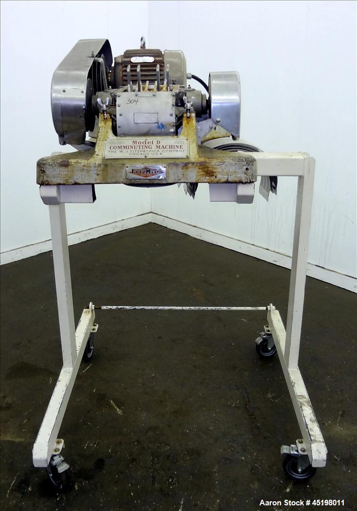 Used- Fitzpatrick Fitzmill, Model D6