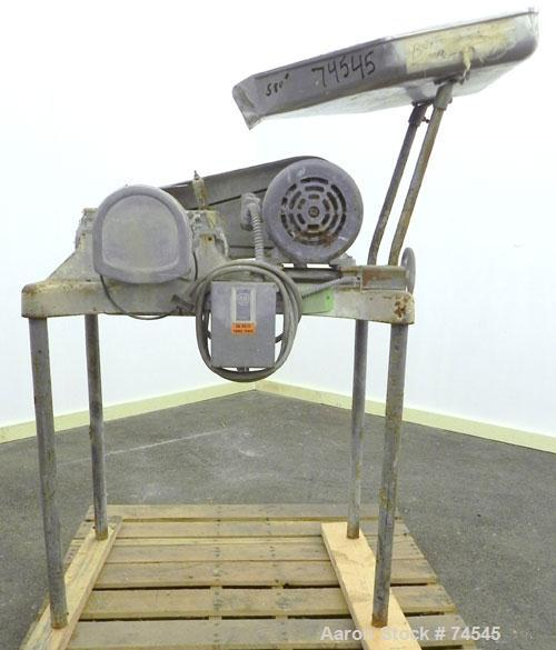 Used- Stainless Steel Fitzpatrick Fitzmill, Model D6