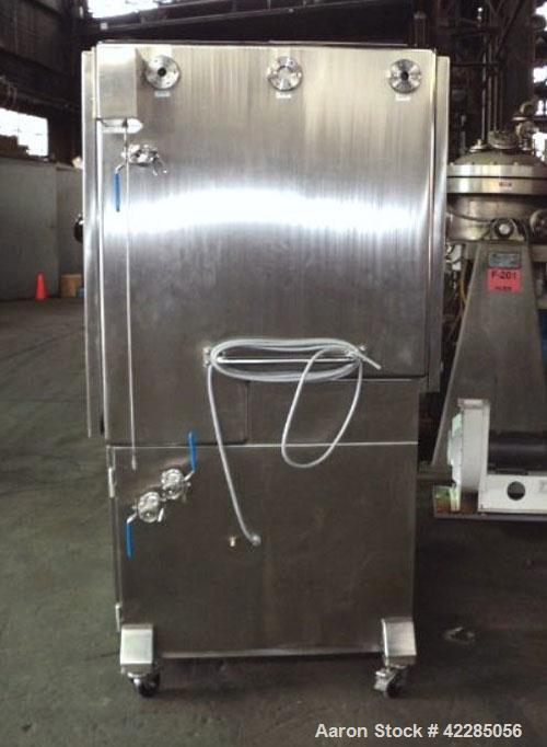 Unused- Fitzpatrick Fitzmill, Model D6A, 316 Stainless Steel. 25RA Mirror polish internal, screw feed with hopper, driven by...