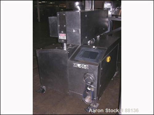 Used- Stainless Steel Fitzpatrick Fitzmill, Model D6A