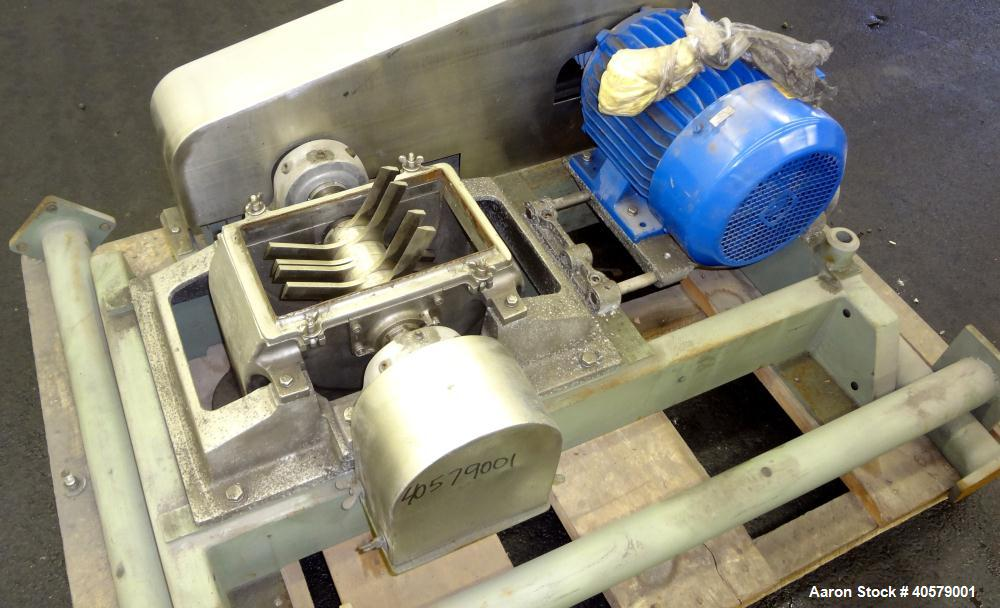 Used- Stainless Steel Fitzpatrick Fitzmill, Model DA06