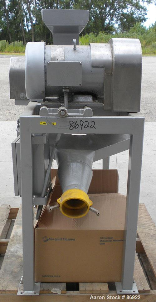 """Used- Fitzpatrick Fitzmill, Model DAO6, 316 Stainless Steel. (16) double impact swinging blades, 6"""" x 11"""" cutting chamber, b..."""