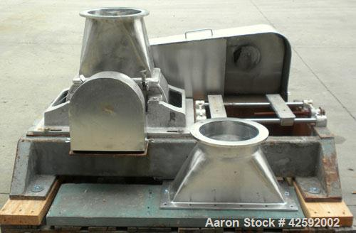 Used- Stainless Steel Fitzpatrick Fitzmill, Model DAS06