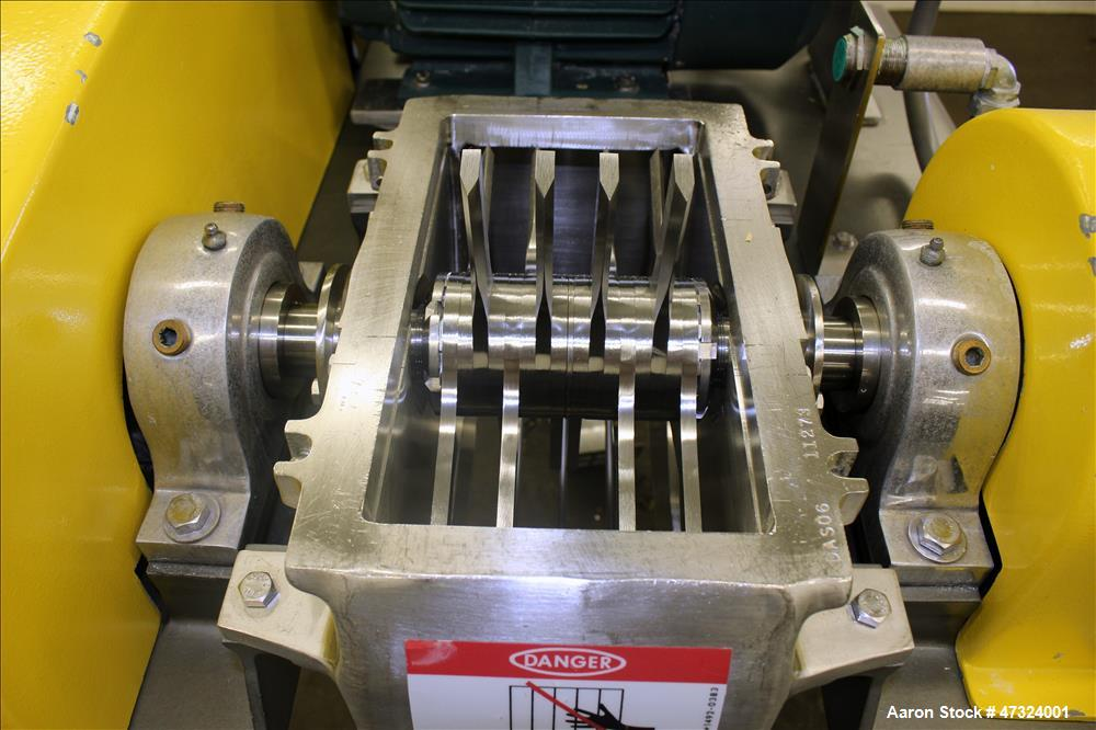 Used- Fitzpatrick Fitzmill, Model DAS06, 316 Stainless Steel.